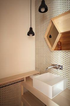 Kleinste kamer Flodeau inspiratie toilet