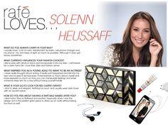 Rafe Loves @SolennHeussaff, read about her on Rafe's blog!