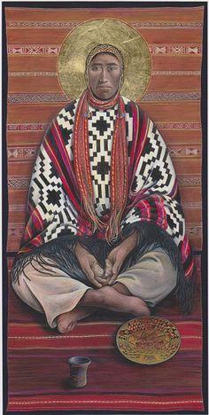 Indigenous Jesus: Father John Giuliani, Painter of Native American Icons