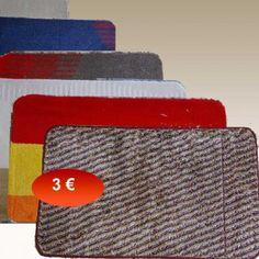 Πατάκια εξώπορτας 60Χ40 εκ. σε πολλά διάφορα σχέδια και χρώματα 3,00 €