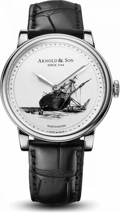 Limited to 8 sets of 3 timepieces - A trio of timepieces marking Charles Darwin's voyage of discovery: Arnold & Son proudly announces the HMS Beagle Set Skagen Watches, Fossil Watches, Fine Watches, Cool Watches, Men's Watches, Unique Watches, Wrist Watches, Latest Watches, Best Watches For Men