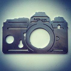 #keyholder #nikon #nikonf #lasercut #aluminum #filmnotdead #photography by badzoli