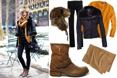 flat ankle bootie outfit | Cute Outfits with Ankle Boots
