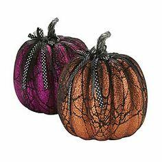 glitter spiderweb pumpkins at big lots - Big Lots Halloween Decorations