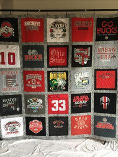 University of Dayton cheerleading t shirt quilt. www ... : t shirt quilt company - Adamdwight.com