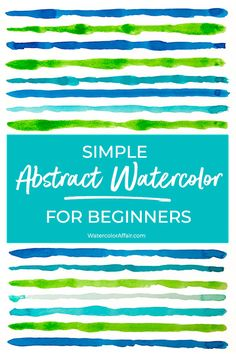 Fancy trying some abstract watercolor painting? Abstract watercolors are a whole lot of fun. At the same time, you can learn some interesting techniques. Abstract Watercolor Tutorial, Watercolor Beginner, Watercolor Paintings For Beginners, Watercolor Projects, Watercolor Paintings Abstract, Easy Watercolor, Art Paintings, Abstract Art, Indian Paintings