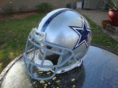 Dallas Cowboys Authentic Full Size Football Helmet - Riddell Proline Murray