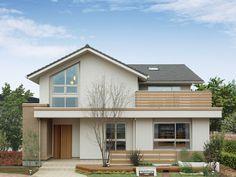 Japan Modern House, Japan House Design, House Front Design, Small House Design, Small Japanese House, Japanese Home Design, Japanese Style House, Minimal House Design, Modern Minimalist House