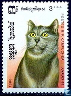 Postage Stamps - Cambodia - CAT