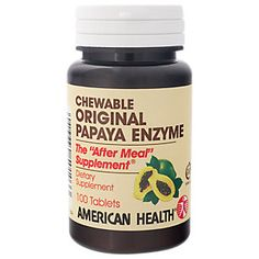 Buy Original Papaya Enzyme (100 Chewable Tablets) from the Vitamin Shoppe. Where you can buy Original Papaya Enzyme and other American Health Products products? Buy at at a discount price at the Vitamin Shoppe online store. Order today and get free shipping on Original Papaya Enzyme (UPC:076630501033)(with orders over $35).