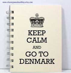 Dänemark Reise Journal Notizbuch Tagebuch von stevenjameskeathley