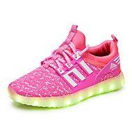 Κοριτσίστικα+Αθλητικά+Παπούτσια+Φωτιζόμενα+παπούτσια+Τούλι+Άνοιξη+Φθινόπωρο+Causal+Περπάτημα+Επίπεδο+ΤακούνιΜαύρο+Πράσινο+Ροζ+–+EUR+€+42.93