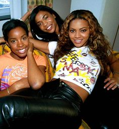 Beyonce Destiny's Child-Before the nose jobs and better weaves