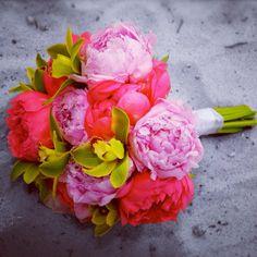 My Wedding Bouquet Peonies