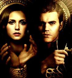 Elena Gilbert & Stefan Salvatore - The Vampire Diaries
