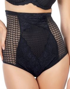 The new Envy collection from Superbra by Panache combines a bold dogtooth fabric with floral lace to give a modern, stylish look.  It is based on the popular Jasmine style
