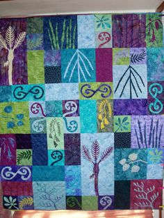 Made by myself and the other midwives of the Bay of Islands as a raffle quilt to celebrate Midwives Day