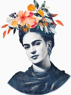 Male Model Flower Crown All the Lovely People in flower crown drawing Flower Crown Drawing Male Frida Kahlo Frida Watercolor Flower Crown orange Frida Kahlo Tattoos, Frida Tattoo, Flower Crown Drawing, Crown Flower, Fridah Kahlo, Frida Paintings, Frida Art, Frida Kahlo Artwork, Crown Illustration