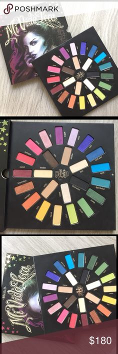 Kat Von D mi vida loca palette (LIMITED EDITION) LIMITED EDITION, RARE Kat von d eyeshadow palette. Only used a couple shadows once but you cannot tell at all! basically brand new. Kat Von D Makeup Eyeshadow