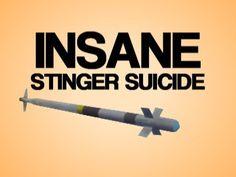 Insane Stinger suicide in MW3.