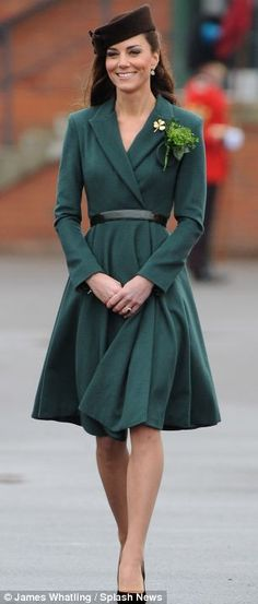 Princess Catherine on St. Patrick's Day 2012