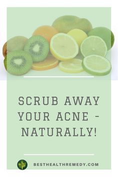 There is nothing like a good facial scrub to make you feel clean and refreshed.Here are some facial scrubs you can make at home with ingredients you probably already have in your kitchen. Herbal tea for acne, facial scrub for acne, back acne, myths about