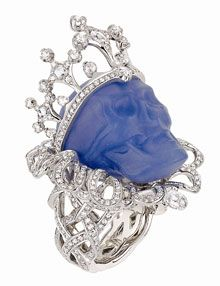 Skull Jewelry | WOW! Dior has some HOT gemstone Skull Jewelry rich with diamonds and ...
