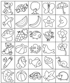 . Drawing Lessons For Kids, Art Drawings For Kids, Easy Drawings, Coloring Book Pages, Coloring Pages For Kids, Easy Crafts For Kids, Art For Kids, Coloring Pages Inspirational, Embroidery Patterns
