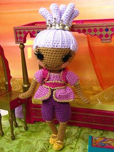 no pattern for this one. custom lalaloopsy