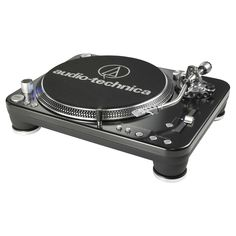 Audio Technica ATLP1240USB Direct Drive Professional Usb Turntable - Black