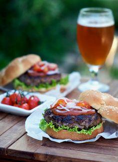 best umami hamburger recipe