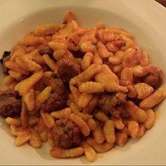 Malloreddus Al Pecorino Sardo @ Vino e Libri Restaurant