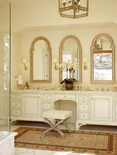 Bathroom Mediterranean Interiors Design, Pictures, Remodel, Decor and Ideas - page 8