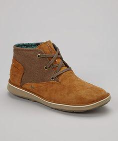 Look at this #zulilyfind! Tan Manuka Desert Suede Ankle Boot - Women by Cushe #zulilyfinds
