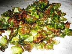 Mmmm Paleo: Brussels Sprouts Chips