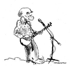 Pete Seeger. by Michael Arthur