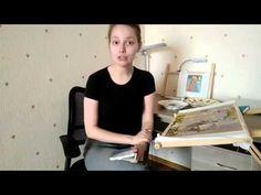 Вышивка бисером для начинающих - YouTube