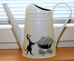 Či-či máma Watering Can, Kettle, Kitchen Appliances, Canning, Diy Kitchen Appliances, Tea Pot, Home Appliances, Home Canning, Conservation