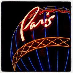 ...a #NightView #Photo at @ParisVegas! #LasVegas