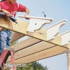 How to build a Pergola from Family Handyman...a fantastic site