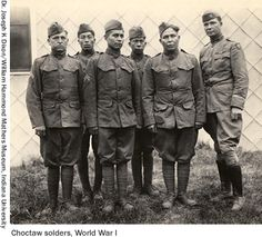 Native American Code talkers........  The irony is that most of these Native warriors learned English in government-sponsored Indian schools, designed to rid them of the very languages that eventually saved so many American lives.