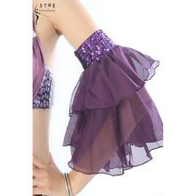 Dancewear Performance Belly Dance Accessory Dancing Accessory Chiffon Belly Dance Chiffon Armlet One Pairs #39823 1PCS ONLY(China (Mainland))