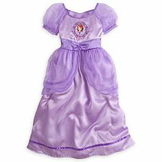 Disney Sofia the First Nightgown for Girls | Disney StoreSofia the First Nightgown for Girls - She'll rule over a world of dreams in our royal satin gown with sheer organza overlays and embroidered trims; sparkling sleepwear fit for a princess-to-be!
