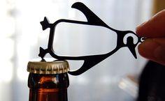 Penguin bottle opener...