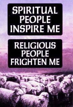 I have an awesome relationship with God.  I don't need someone trying to sell me their religion.