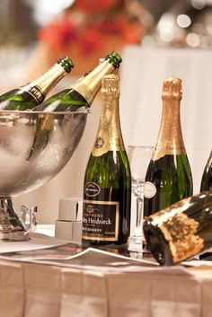 What wedding would be complete without champagne? Classy, bubbly, and delicious. A favorite at Weber's.