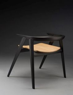"""I strive to design furniture with simple clean lines, and subtle complexities that are found in details and choice of material. Each piece is purely an expression of my own aesthetic. I take pride in the processes and hand work used to create them, which involves investigating various shapes and forms taken from objects and experiences that inspire me"" - FABIANO SARRA - (The ""Spada Chair"" designed by Fabiano Sarra)"
