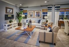 The Emerson Plan at East Garrison by Benchmark Communities interior design by Design One Interiors