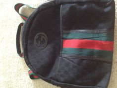 Gucci backpack from today's thrifting