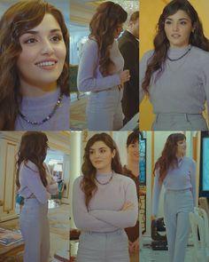 #handeercel #handeerçel #style #sencalkapimi #sençalkapimi #edayildiz #edser #sck #sçk Casual Work Outfits, Girly Outfits, New Outfits, Pretty Outfits, Vintage Outfits, Cute Outfits, Fashion Tv, Winter Fashion Outfits, Turkish Fashion